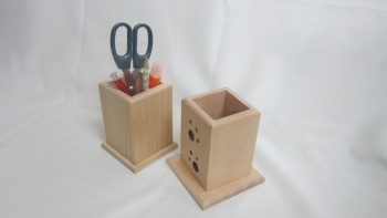 Solid Wood Pen Box