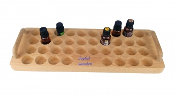 Essential oil display wooden tray ,Essential oil tray with handle