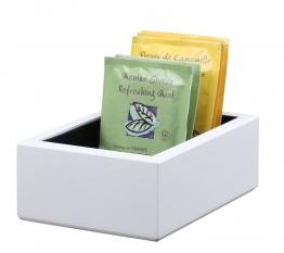 Teabag Chest box in white