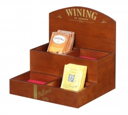 Teabag double cabinet