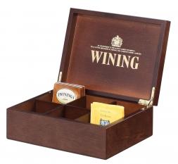 Brown coffee box