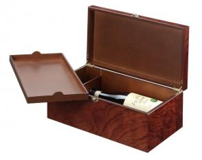 Double bottle wine box