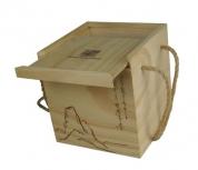 Tea box with sliding lid-S