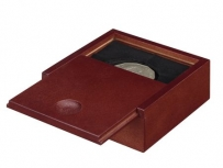 Sliding-coins display boxes