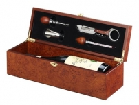 Single bottle wine box
