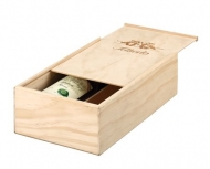 Sliding lid-wine box